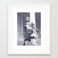 gladiator Framed Art Prints featuring The Gladiator by Pablo-chester Photography