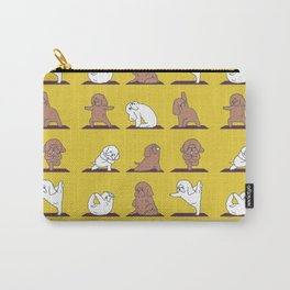 Poodle Yoga Carry-All Pouch