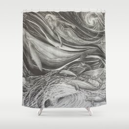 Deep Dive Shower Curtain