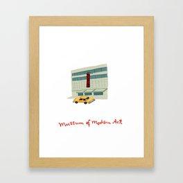 Moma Framed Art Print