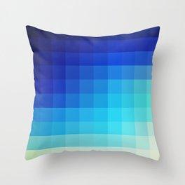 Abstract Deep Water Utukku Throw Pillow