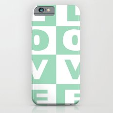 Love Mint iPhone 6s Slim Case