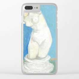 Vincent van Gogh Torso of Venus Clear iPhone Case