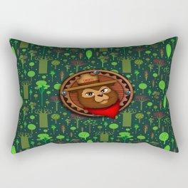 camp Bear Rectangular Pillow