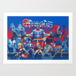 Thundercats Art Print