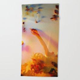 Blooming Colors Beach Towel