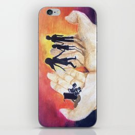 You Have Power To Reunite a Family in The Palm of Your Hands iPhone Skin
