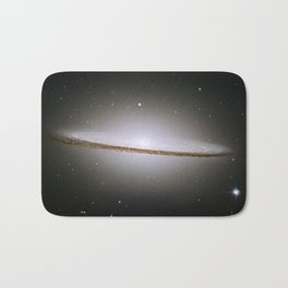 Sombrero Galaxy Hubble Telescope Image Bath Mat