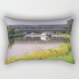 canal boatman Rectangular Pillow