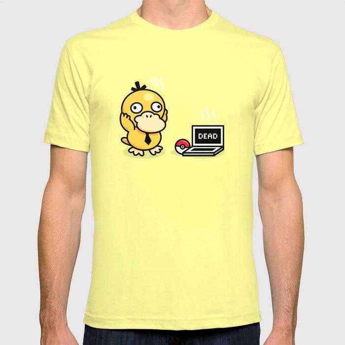 e9c1b70b Psyduck in real life T-shirt by manudesign | Society6