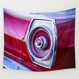 Tail Light. Wall Tapestry