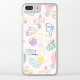 Shopaholic Clear iPhone Case