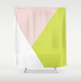 Getting Blocky Shower Curtain