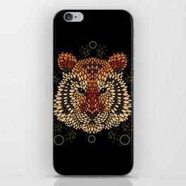 Tiger Face iPhone Skin