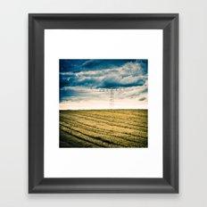 Autumn's Energy Framed Art Print