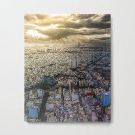 Ho Chi Minh city, Vietnam Metal Print