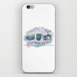 Bookstagram Obsession iPhone Skin