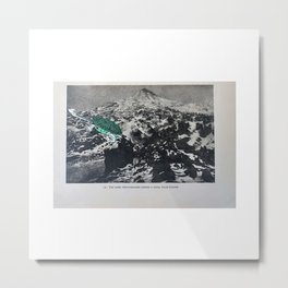 Turtle #13 (Solar Eclipse Mountain) [Cecilia Lee] Metal Print