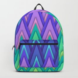 Mountains - geometric composition Backpack