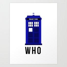 TARDIS-02 Art Print