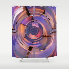 Rainbow Finder Shower Curtain