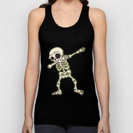 Dabbing Skeleton I Funny Halloween Novelty I Dab Kids Adult design Unisex Tank Top