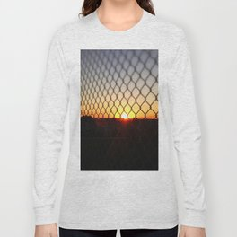 Sunset over the Fence Long Sleeve T-shirt