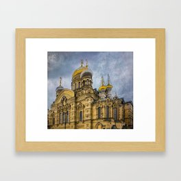Church of the Assumption of the Blessed Virgin Mary - St. Petersburg Framed Art Print