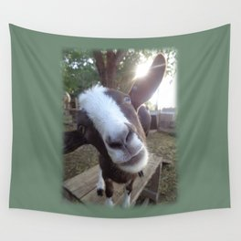 Goat Barnyard Farm Animal Wall Tapestry
