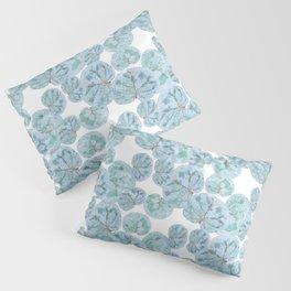 Sea Grape Tropical Leaves Pillow Sham