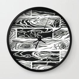 Hard Wood Wall Clock