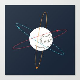 Cat-ion Canvas Print