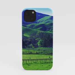 Lush Green Grass Majestic Meadow Scenic Photo iPhone Case