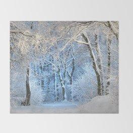 Another winter wonderland Throw Blanket
