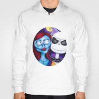 nightmare before christmas Hoodies featuring Nightmare Before Christmas by Janelle Jex