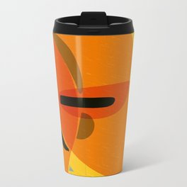 Horizons | Happy art | Wall art Metal Travel Mug