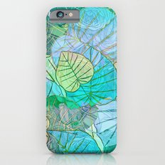 Leaves in Rosy Background 2 Slim Case iPhone 6s