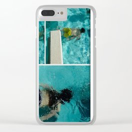 To swim Clear iPhone Case