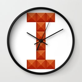 "Letter ""I"" print in beautiful design Fashion Modern Style Wall Clock"