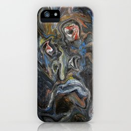 Unexpected deformation of an external interface  iPhone Case