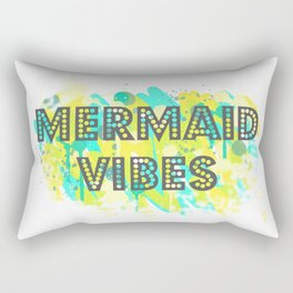 Mermaid Vibes Rectangular Pillow