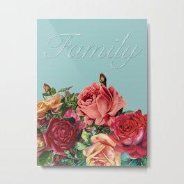 Let Families Bloom Metal Print