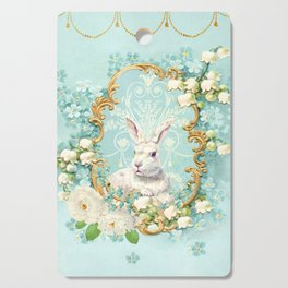 The White Rabbit Cutting Board