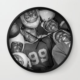 Vintage Football Photo - Gordon Parks, 1943 Wall Clock