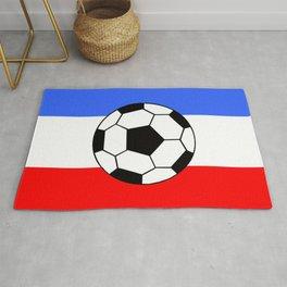 France Foot Rug