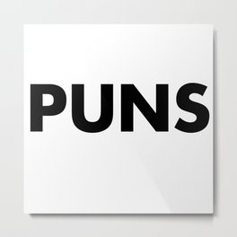 PUNS Metal Print