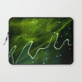 Green Algae and Water Laptop Sleeve