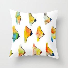 Side Boob Throw Pillow
