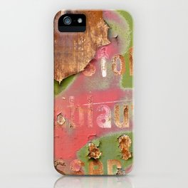 Colors of Rust _873 / ROSTart iPhone Case