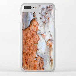 Texture4 Clear iPhone Case